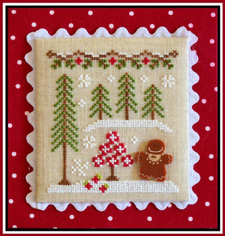 Country Cottage  ~ Gingerbread Girl & Peppermint Tree