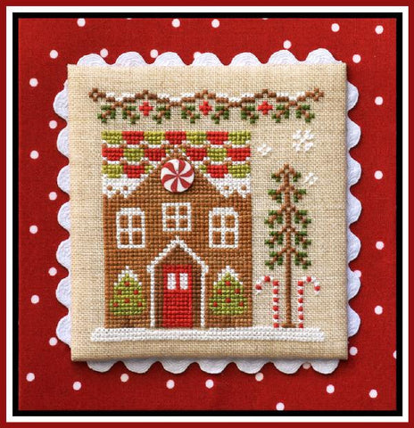Country Cottage  ~ Gingerbread House #1