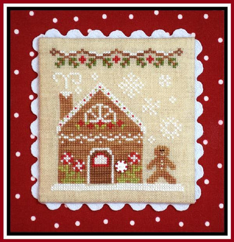 Country Cottage  ~ Gingerbread House #2