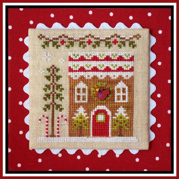 Country Cottage  ~ Gingerbread House #4
