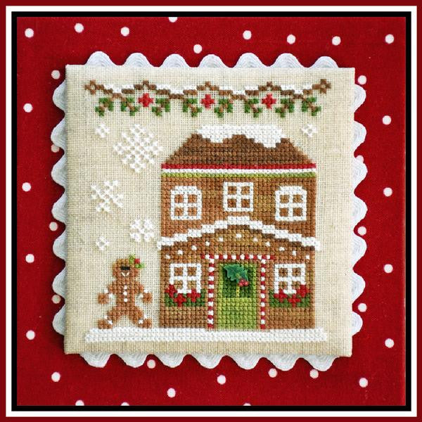 Country Cottage ~ Gingerbread House #5