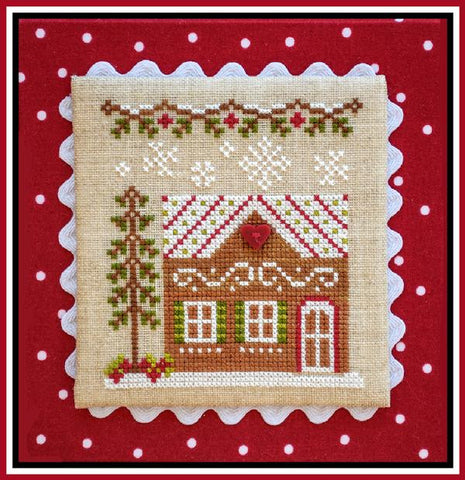Country Cottage ~ Gingerbread House #7