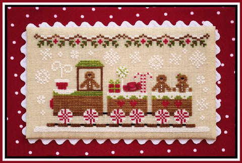 Country Cottage  ~ Gingerbread Train