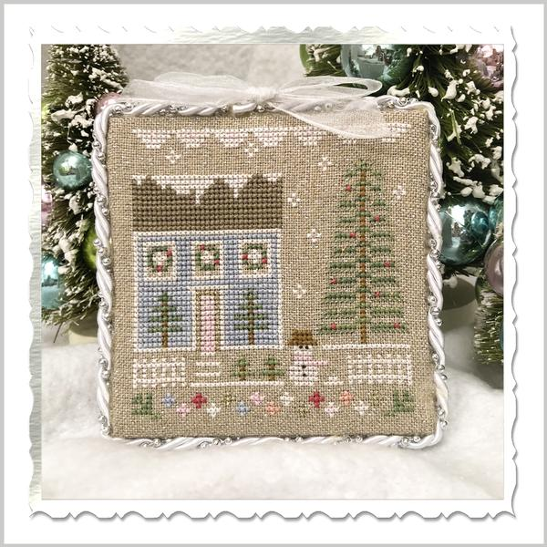 Country Cottage Needleworks ~ Glitter Village ~ Glitter House 1
