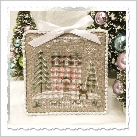 Country Cottage Needleworks ~ Glitter Village ~ Glitter House 4