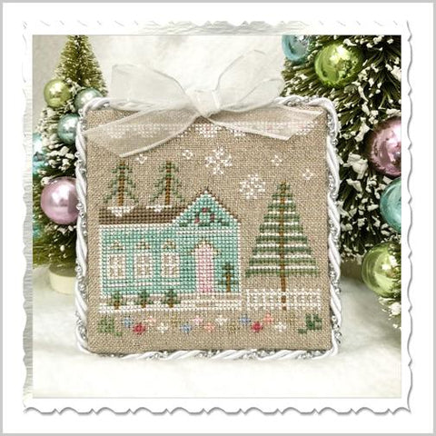 Country Cottage Needleworks ~ Glitter Village ~ Glitter House 7