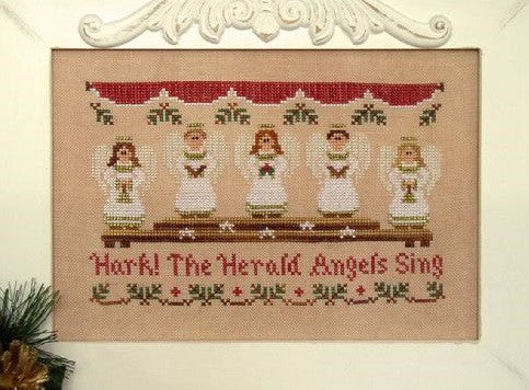 Country Cottage Needleworks ~ Hark! The Herald Angels Sing