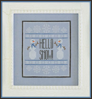 Country Cottage Needleworks ~ Hello Snow