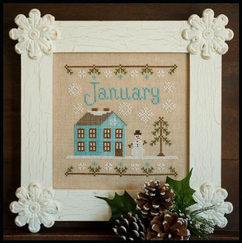 Country Cottage  ~ January