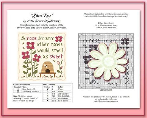 Little House/CC ~ Sweet Rose