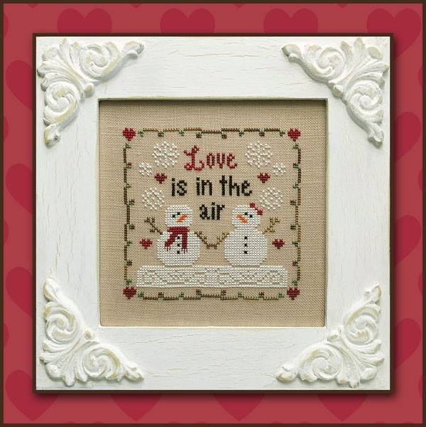 Country Cottage Needleworks ~ Love is in the Air