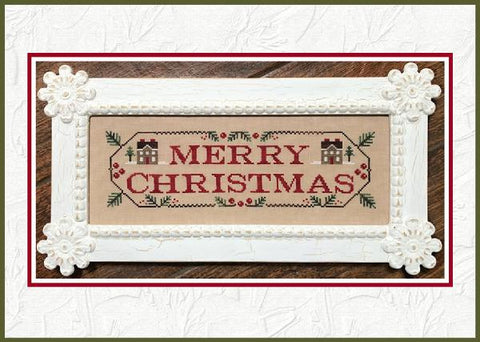 Country Cottage Needleworks ~ Merry Christmas