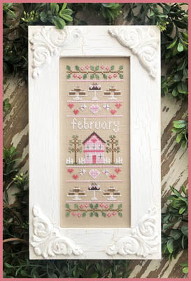 Country Cottage Needleworks ~ Sampler Of The Month - February