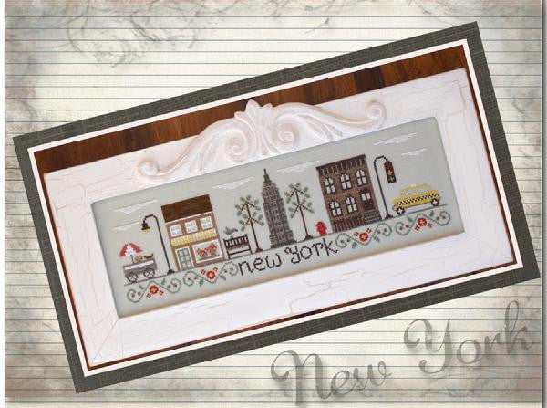 Country Cottage Needleworks ~ Afternoon In New York