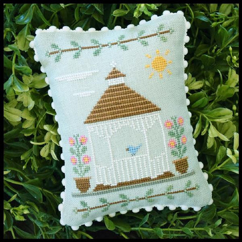 Country Cottage Needleworks ~ Main Street ~ Gazebo