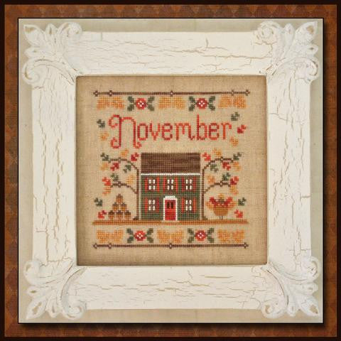 Country Cottage  ~ November