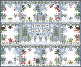 Country Cottage Needleworks ~ Snow Village