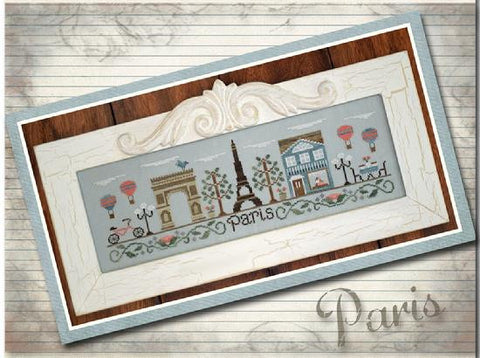 Country Cottage Needleworks ~ Afternoon In Paris