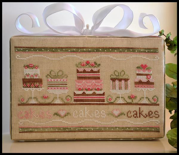 Country Cottage Needleworks ~ Party Cakes