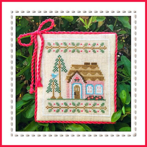 Country Cottage Needleworks ~ Pink Forest Cottage ~ Welcome to the Forest Part 5 of 9