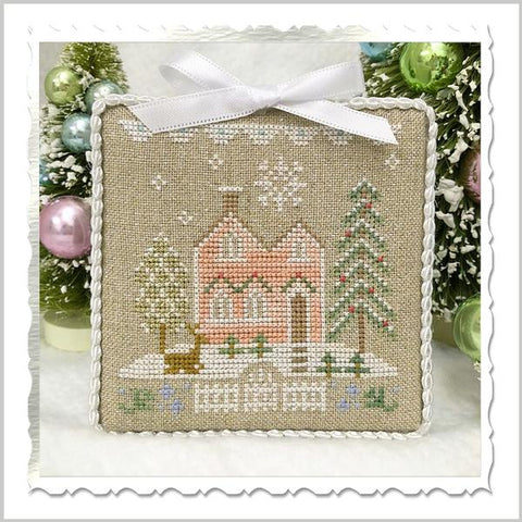 Country Cottage Needleworks ~ Glitter Village ~ Glitter House 6