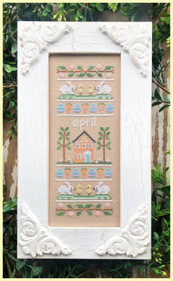 Country Cottage Needleworks ~ Sampler Of The Month - April