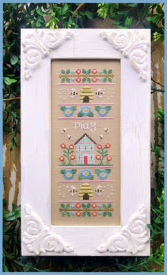 Country Cottage Needleworks ~ Sampler Of The Month - May