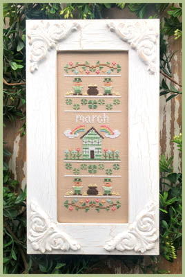 Country Cottage Needleworks ~ Sampler Of The Month - March