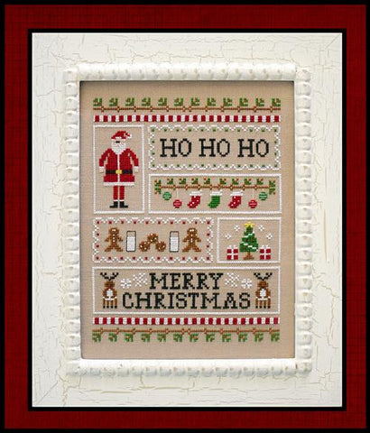 Country Cottage Needleworks ~ Santa's Sampler