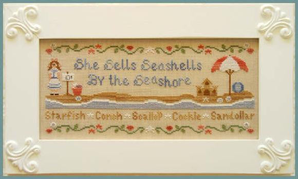 Country Cottage Needleworks ~ She Sells Sea Shells