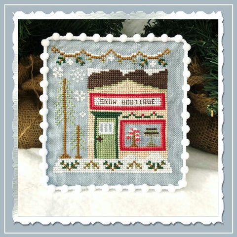 Country Cottage Needleworks ~ Snow Village 7 - Snow Boutique
