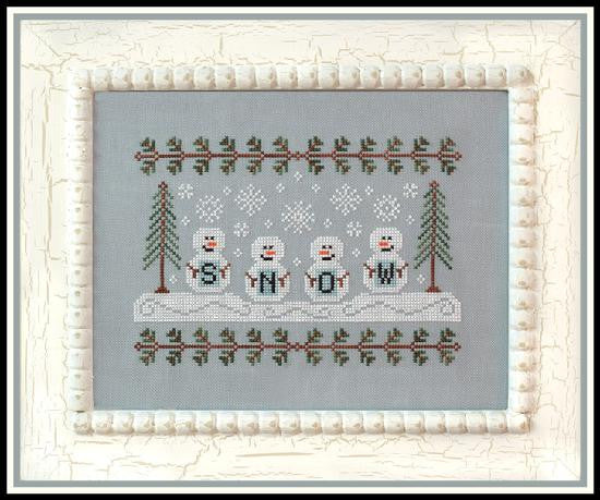 Country Cottage Needleworks ~ Snowmen