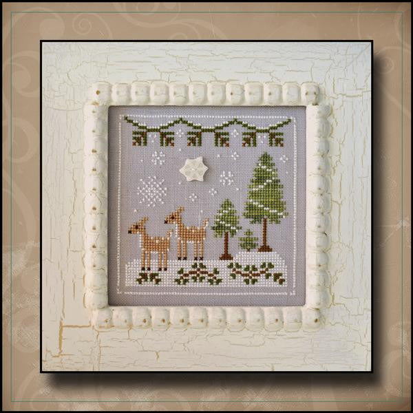 Country Cottage ~ Snowy Deer