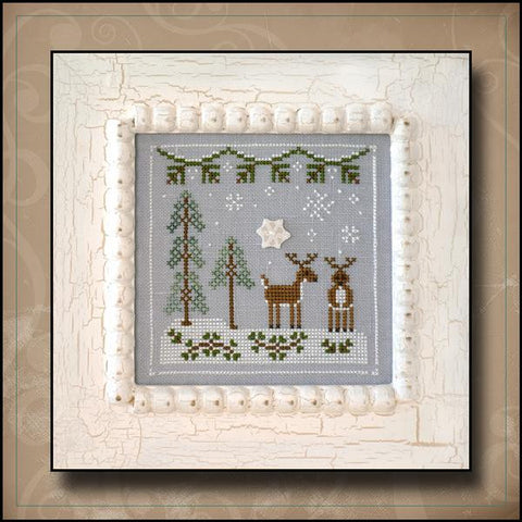 Country Cottage ~ Snowy Reindeer