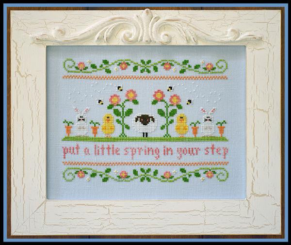 Country Cottage Needleworks ~ Spring In Your Step