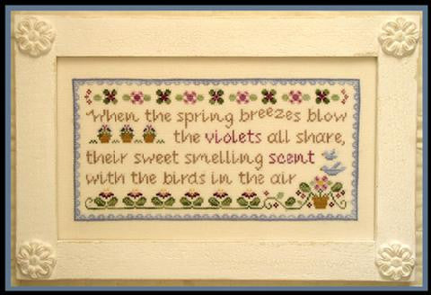 Country Cottage Needleworks ~ Spring Violets