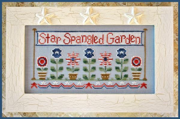 Country Cottage Needleworks ~ Star Spangled Garden