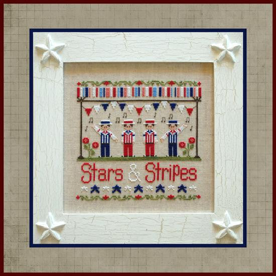 Country Cottage Needleworks ~ Stars & Stripes