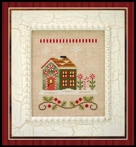 Country Cottage ~ Candy Cane Cottage