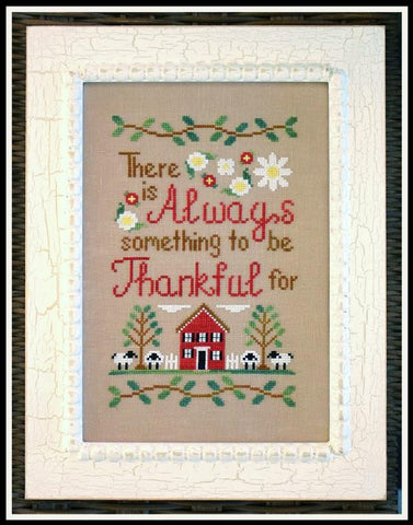 Country Cottage Needleworks ~ To Be Thankful