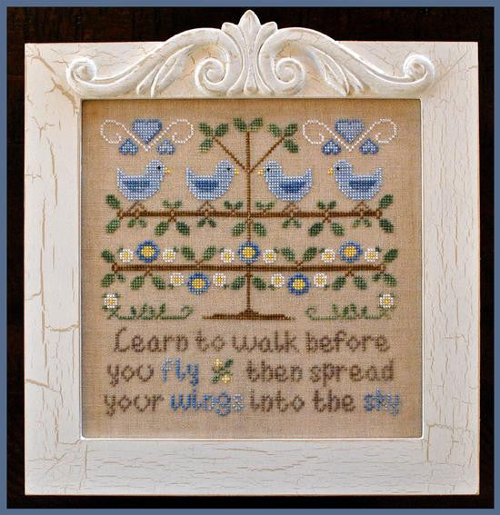 Country Cottage Needleworks ~ Walk Before You Fly