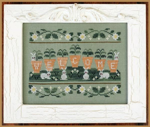 Country Cottage Needleworks ~ Welcome Spring
