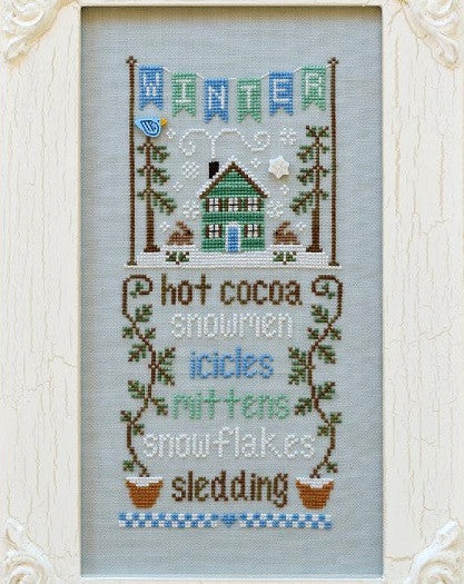 Country Cottage Needleworks ~ Seasonal Celebrations ~ Winter