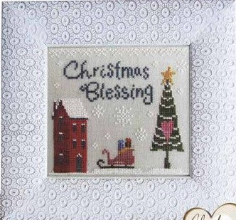 Cottage Garden Samplings ~ Christmas Blessing