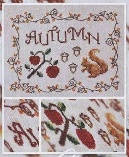 Cottage Garden Samplings ~ Autumn