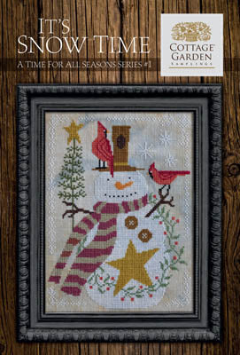 Cottage Garden Samplings ~ Time For All Seasons 1 - It's Snow Time