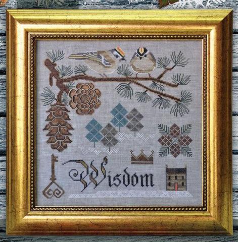 Cottage Garden Samplings ~ Winter's Wisdom - Songbird's Garden Series Part 3