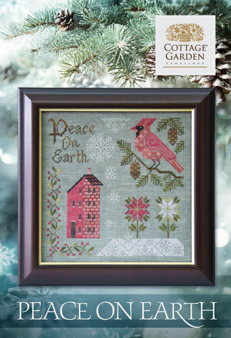 Cottage Garden Samplings ~ Peace On Earth (reprint)