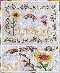 Cottage Garden Samplings ~ Summer