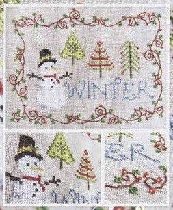 Cottage Garden Samplings ~ Winter
